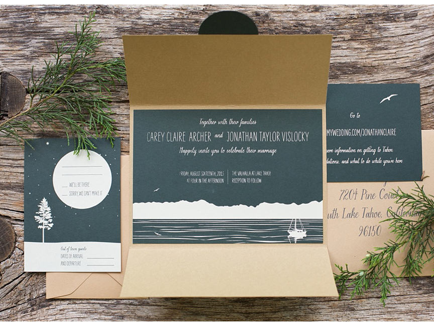 Lake-Tahoe-custom-wedding-invitations-Sarah-Jane-Winter-Charlottesville-Virginia